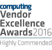 Computing excellence awards 2016